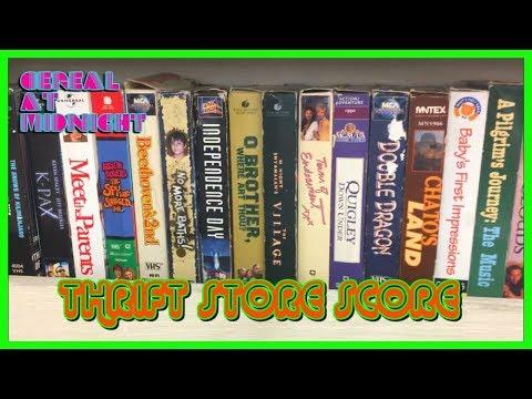 Thrift Store 5: Movies, Music And Books (Physical Media Trifecta!)