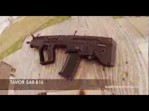 TAVOR SAR B16: Sneak peak at the range