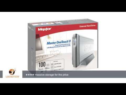 Maxtor U01E100 100GB External Hard Drive USB 2.0 | Review/Test