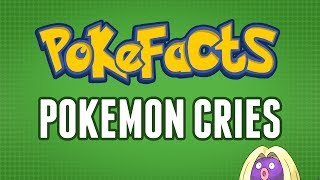In this video I delve into some interesting facts about Pokemon and certain cries that Pokemon make.Wow you actually clicked it, just for that heres a little extra fact.I forgot to mention that Swinub and Hondour have almost exactly the same call. Strange isn't it. I discovered this while going through my Pokemon box. Try it yourself you might be surprised with what you find.