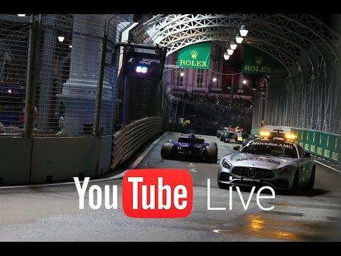GP de Singapur F1 2017 – Directo carrera