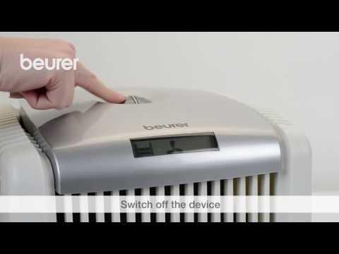 Hướng dẫn sử dụng máy lọc không khí Beurer LW110