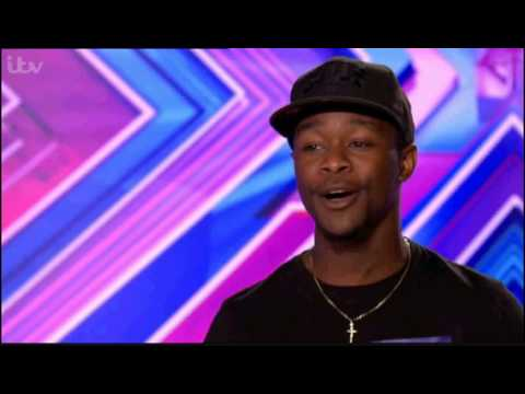 Bre Musiq sings No Diggity/Return of the Mack on X-Factor!