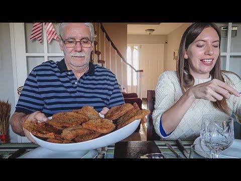 Haciendo Milanesas Argentinas | Comida Típica Argentina + Historias con mi Papá