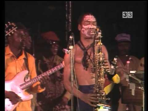 Fela Kuti & Egypt 80 [Arsenal TV3 Catalonian TV 1987-08-04]