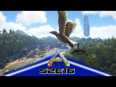 ARK: Survival Evolved (Gameplay) E16 - How To Tame A Quetzalcoaltus SOLO!!! (Scorpion Method)