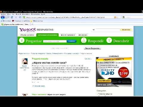 Preguntas estupidas de Yahoo Respuestas