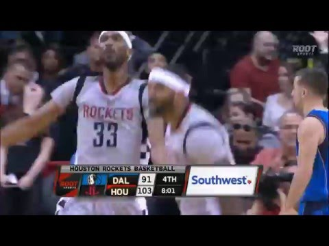 Josh Smith destroys Dirk Nowitzki with the fake