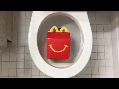 Will it Flush? - McDonald's $1 $2 $3 Dollar Menu