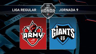 Asus Rog Army vs Giants Only The Brave - #LoLHonor9 - Mapa 1 - Jornada 9 - T11