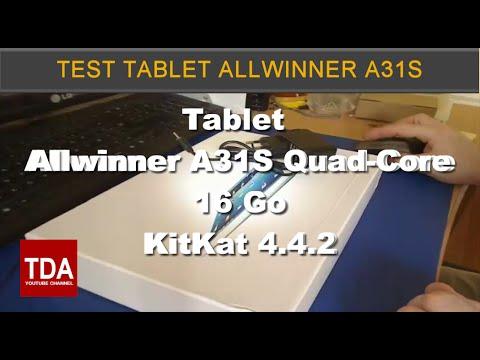 Test Tablette 10.1