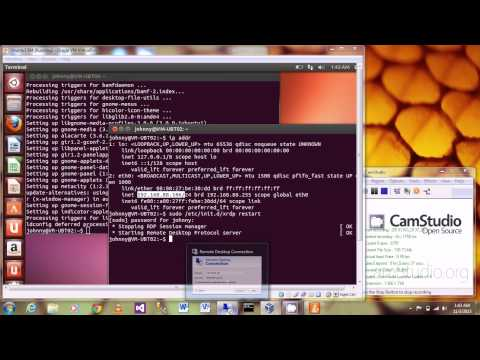 how to enable vnc on ubuntu