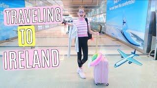 Video Traveling to Ireland, International Plane Trip | Dublin Vlog Part 1 MP3, 3GP, MP4, WEBM, AVI, FLV Oktober 2018