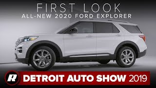 All-new 2020 Ford Explorer is a more efficient, spacious and tech-filled three-row SUV | NAIAS 2019 by Roadshow