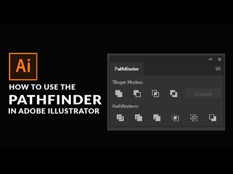 Adobe Illustrator Tutorial For Beginners -  Pathfinder