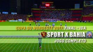 Copa do Nordeste 2017 Final - Jogo de Ida Estádio Adelmar da Costa Carvalho (Ilha do Retiro), Recife, PE.