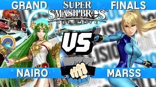 Collision 2019 Grand Finals - Nairo (Palutena/Ganondorf) vs Marss (Zero Suit Samus) - Smash Ultimate