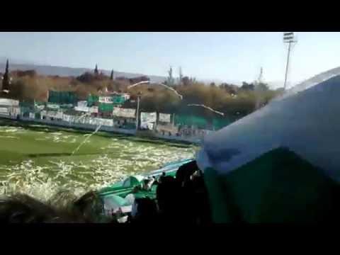 Recibimiento Desamparados vs Trinidad (31-5-15) - La Guardia Puyutana - Sportivo Desamparados