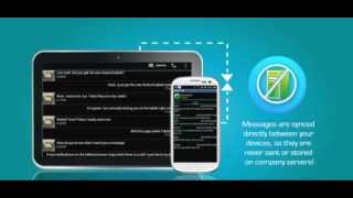 Tablet Talk: SMS & Texting App YouTube video