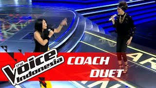 Video PECAH! Coach Anggun Duet Dengan Rambu | COACH DUET | The Voice Indonesia GTV 2018 MP3, 3GP, MP4, WEBM, AVI, FLV Januari 2019