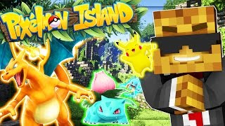 EPIC GENGAR AND GOLEM - Minecraft Pixelmon Island SMP - Pokemon GO MOD