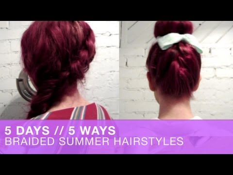 5 Days // 5 Ways – Braided Summer Hairstyles