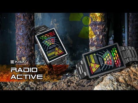 El reloj radioactivo LED de Kisai que te hará sentir como en un episodio de 24