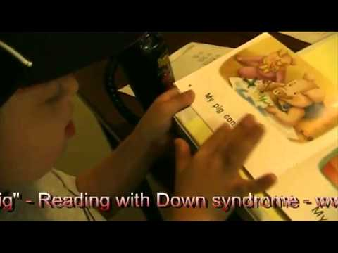 Watch video Down Syndrome: Reading ''My Pig''