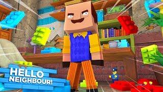 HELLO NEIGHBOUR TURNS THE NEIGHBOURHOOD TO LEGO!