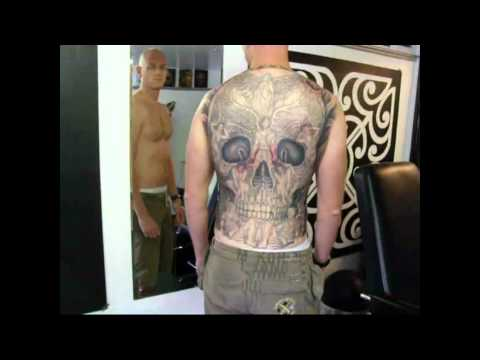 back tattoo - http://www.powerlinesupplies.co.uk/ A little compilation video of my personal Top 10 back piece tattoos I hope that you enjoy Music - Tattoo by Van Halen.