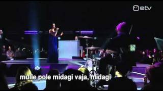 Jana Kask - Don't Want Anything (Eesti NF 2011)