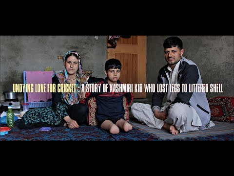 A story of Kashmiri kid who lost legs to littered shell