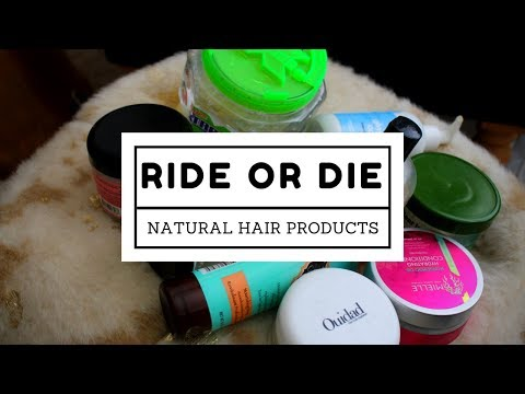 My Ride Or Die Natural Hair Products