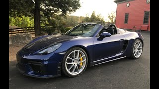 The 2020 Porsche Boxster Spyder is Finally a Roofless GT4! - One Take by The Smoking Tire