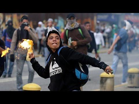 Βενεζουέλα: Νέες διαδηλώσεις και σοβαρά επεισόδια
