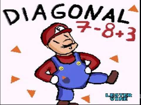 Super Diagonal Mario 2 Final Level+Boss and Ending