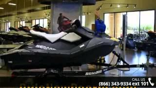 1. 2014 Sea-Doo MOVE I 1250 (torsion suspension) Black  - Ri...