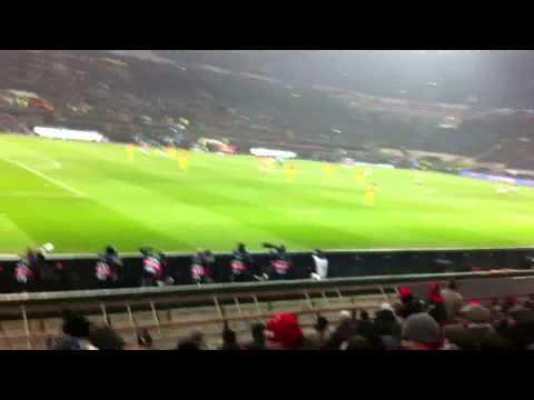 Milan - Barcellona 2 - 0 vissuta dallo stadio