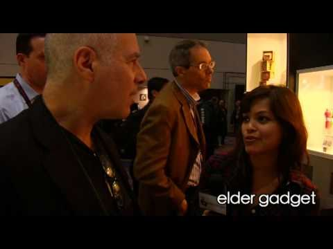 Elie Gindi visits with WIRED magazine - CES 2011