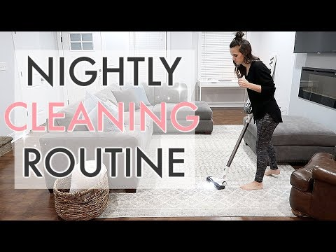 EXTREME CLEAN WITH ME 2019 // NIGHT TIME CLEANING ROUTINE // SIMPLY ALLIE