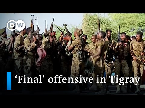 Ethiopia's Prime Minister Abiy vows 'final' offensive in Tigray conflict | DW News