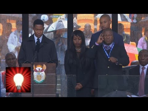 nelson - Deaf and sign language groups have reacted with some confusion after it transpired the sign language interpreter at Nelson Mandela's memorial service was act...