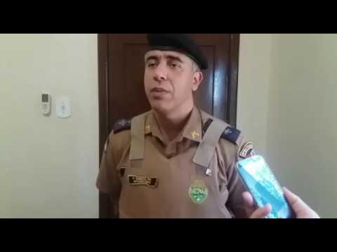 Palotina - Cerco é feito pela Polícia Militar e foragido de Cruzeiro é preso com arma de fogo.