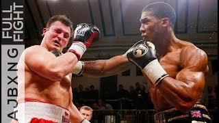 Video Full Fight | Anthony Joshua Vs Hrvoje Kisciek TKO MP3, 3GP, MP4, WEBM, AVI, FLV Juni 2019