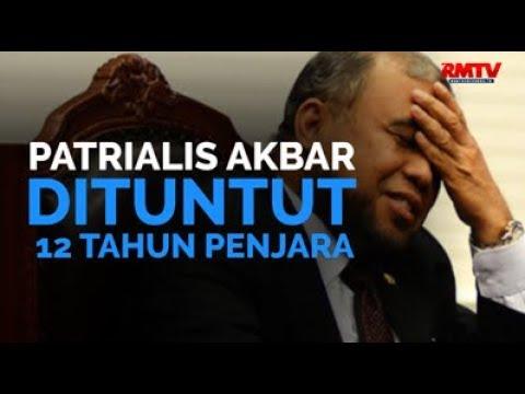 Patrialis Akbar Dituntut 12 Tahun Penjara