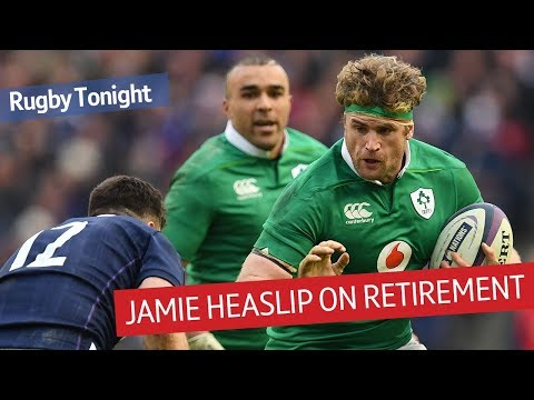 Jamie Heaslip exclusive interview | Why he retired from rugby | Rugby Tonight
