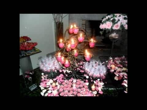 Festa 15 anos marrom com rosa