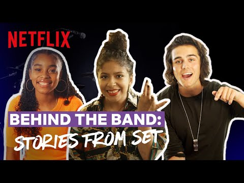 Behind the Band Ep 5: Stories From Set | Julie and the Phantoms | Netflix Futures
