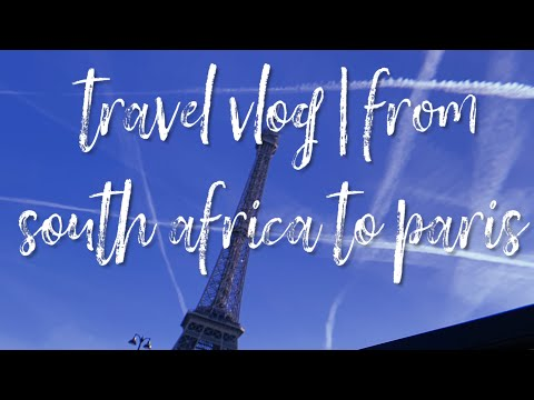 TRAVEL VLOG|🇿🇦🇫🇷