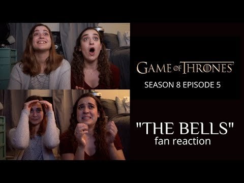 "Game of Thrones Fan Reaction to the CRAZIEST moments of Season 8 Episode 5 ""The Bells"" !!!"